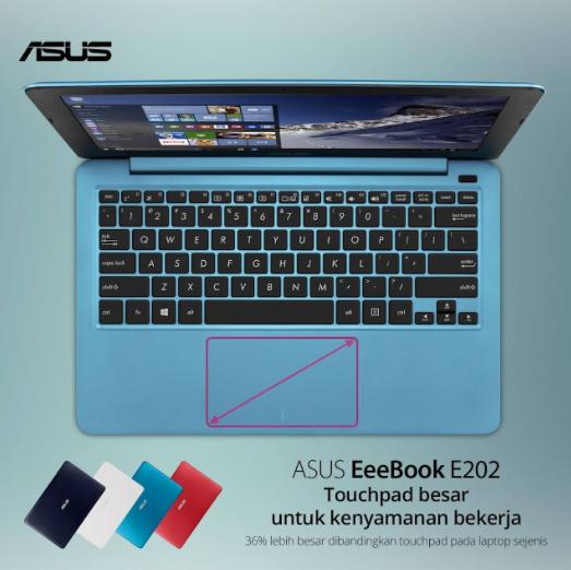 Touchpad Besar dan REsponsif