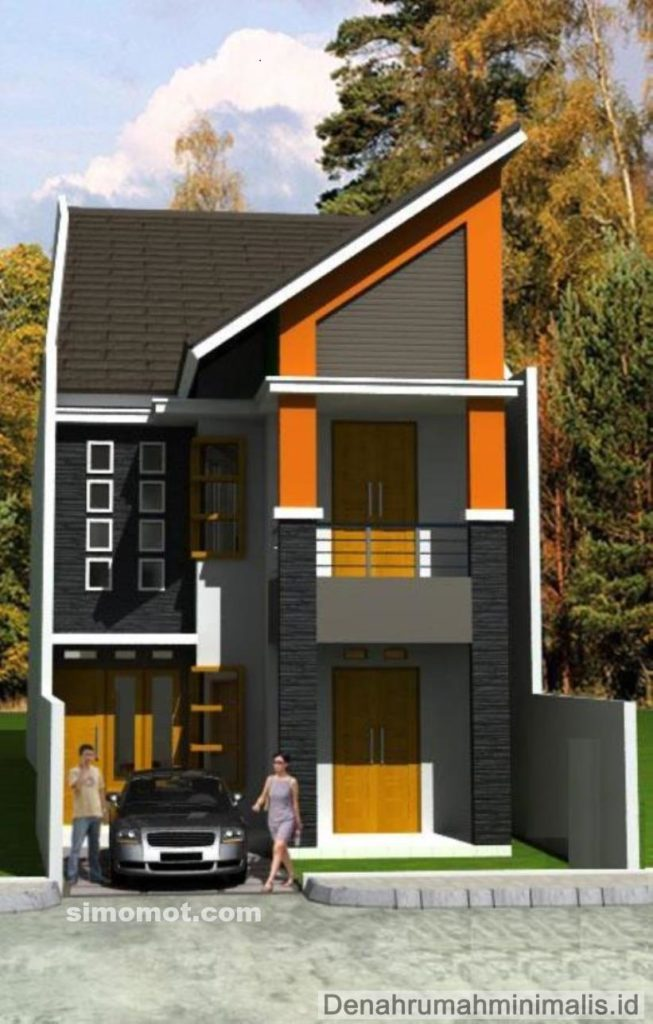 Rumah Minimalis 2 Lantai Di Palembang  rumah minimalis modern 2 lantai yang lagi trend bangsaid